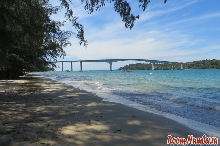 Пляж Гавайи Сиануквиль