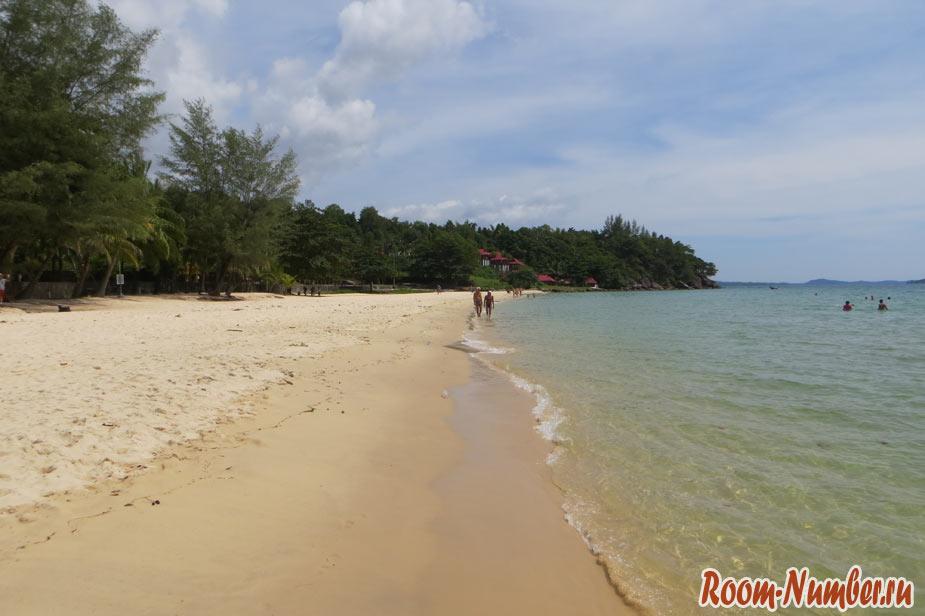 пляж соха