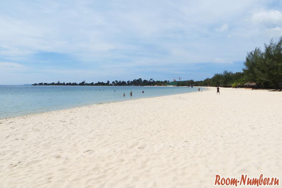 Пляж Сокха в Сиануквиле (Sokha Beach). Как бесплатно пройти на территорию отеля