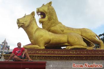 Золотые львы в Сиануквиле