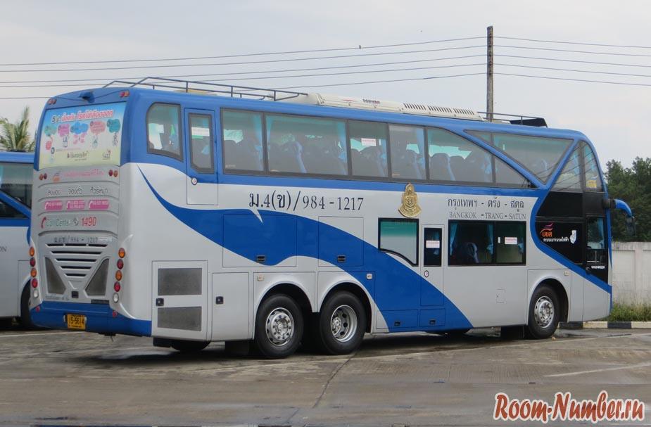 автобус в тайланде