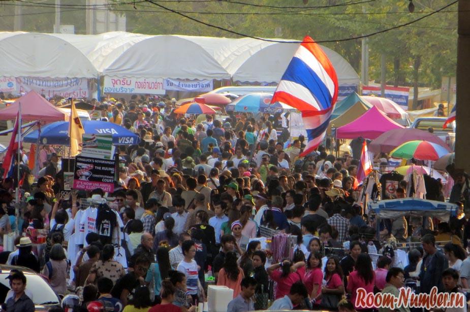 Демонстрации и протесты вв Бангкоке
