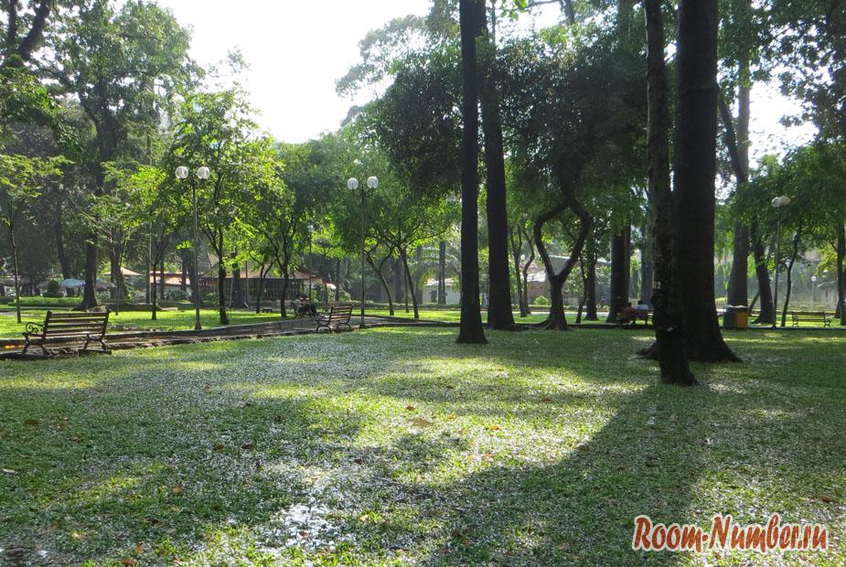 Парки Хошимина: Tao Dan park — зелёный оазис в центре Сайгона