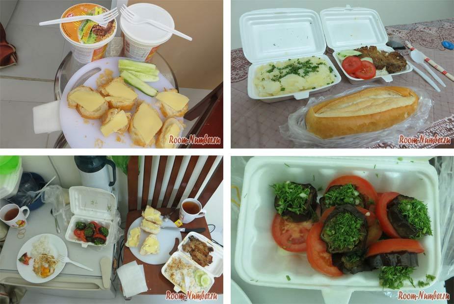 питание во вьетнаме - готовая еда с собой из кафе