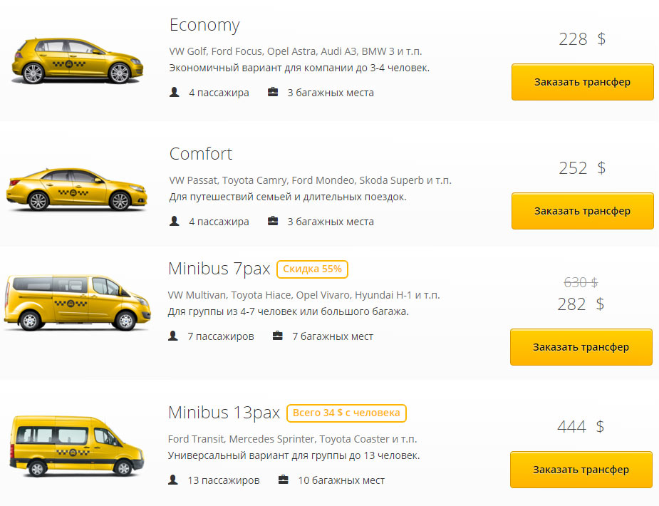 Такси нячанг дананг