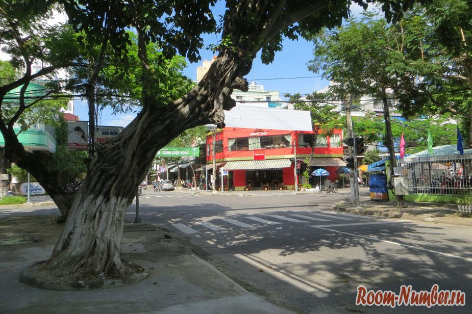 Город Дананг во Вьетнаме