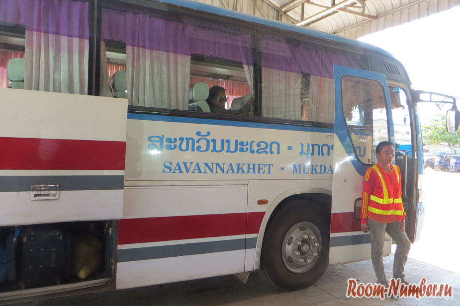 Саваннакхет — Мукдахан. Без проблем въехали в Тайланд по 30-дневному штампу