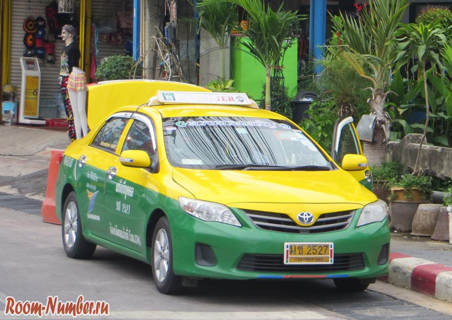 Бангкок Паттайя такси