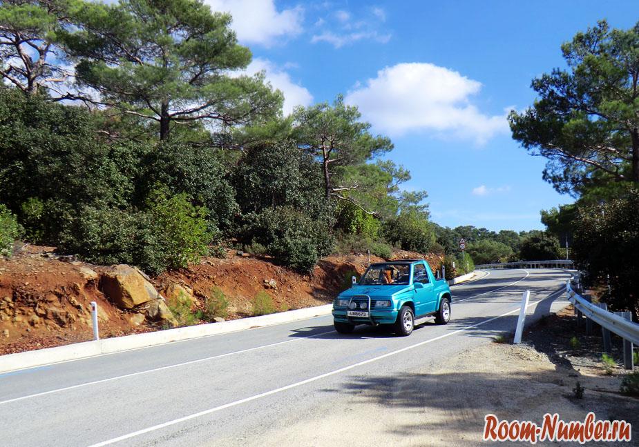 Аренда машины на Кипре
