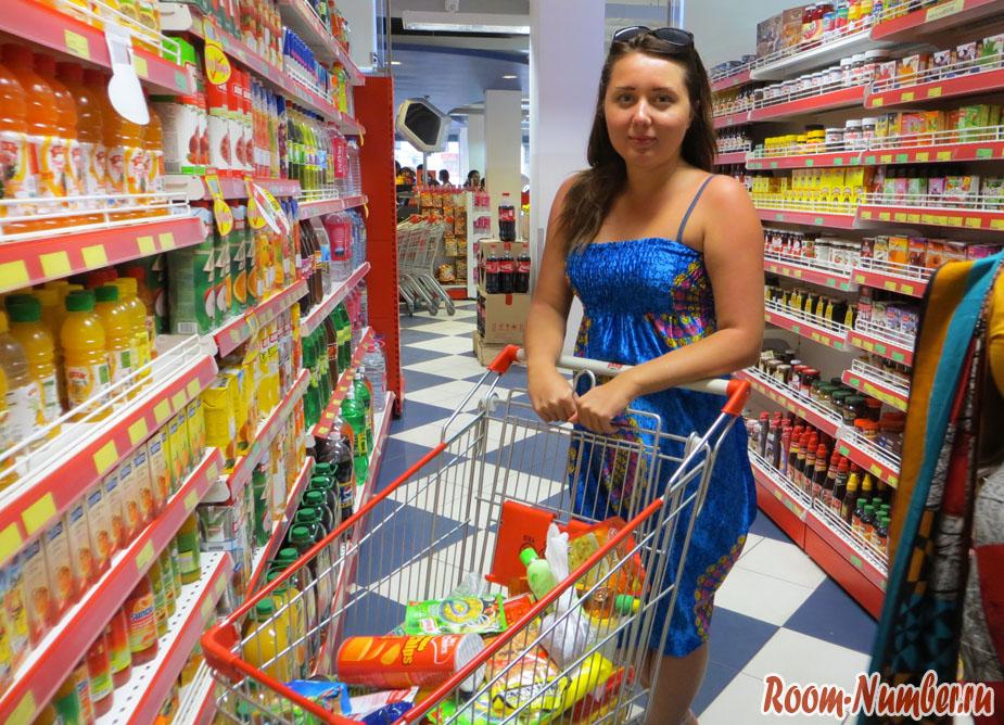 Где покупать продукты в Унаватуне? Координаты магазинов и супермаркетов