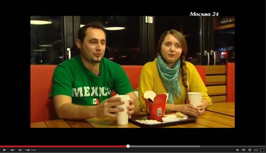 Интервью на телеканале Москва24