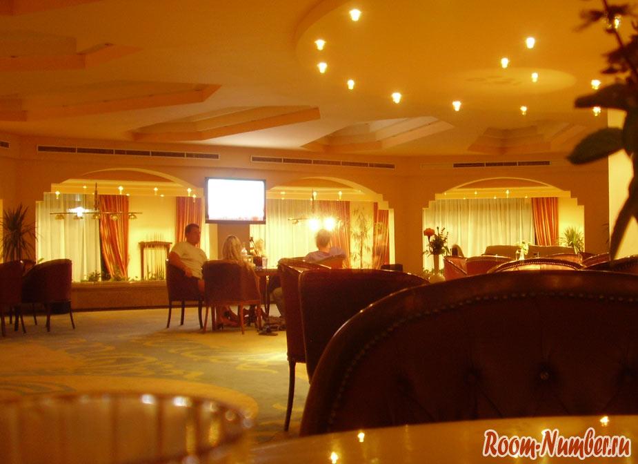 Бар в отеле в корпусе голден 5 даймонд 4