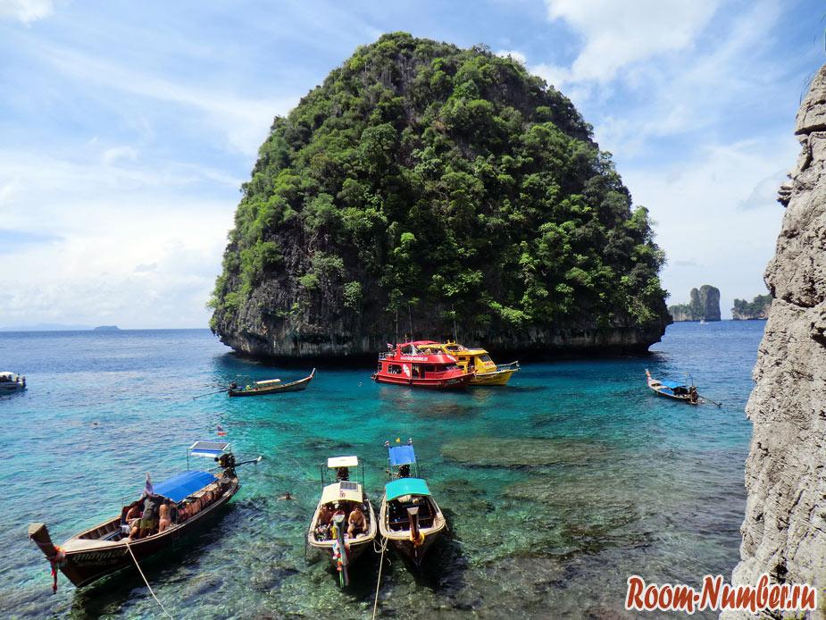 Тайланд, остров пхи-пхи