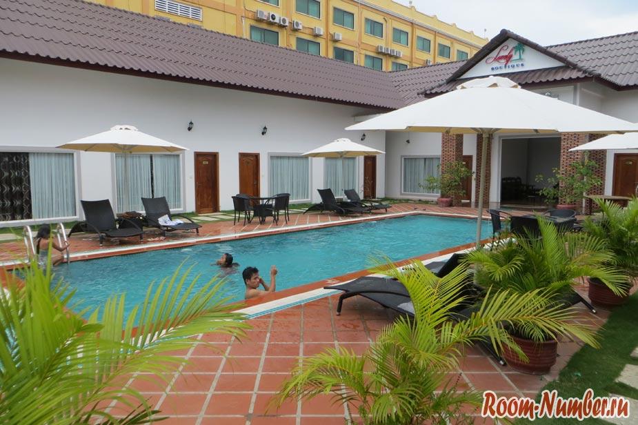 отели сиануквиля - лавли бутик отель