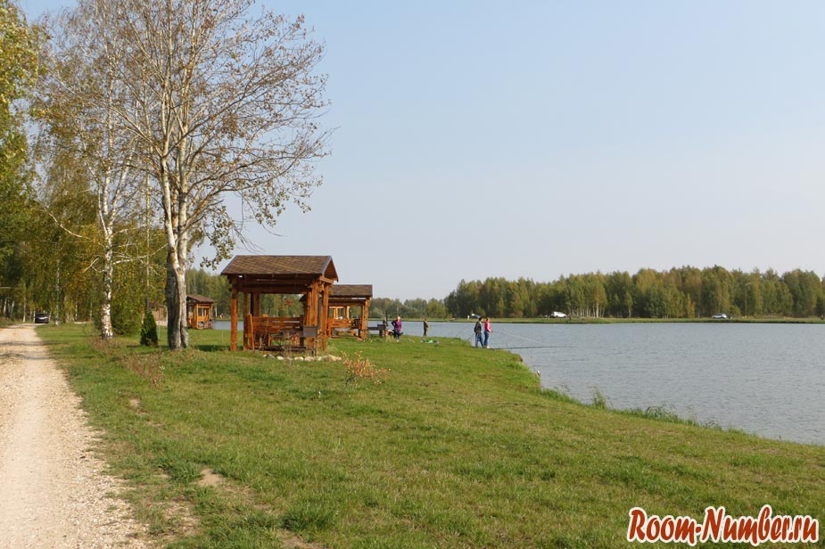 Клуб Ихтиолог фото территория рыболовной базы