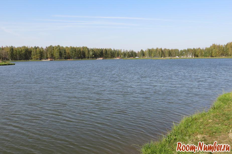 фото прудов на рыболовной базе