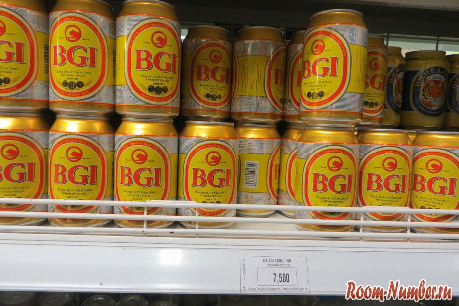 Пиво BGI во Вьетнаме