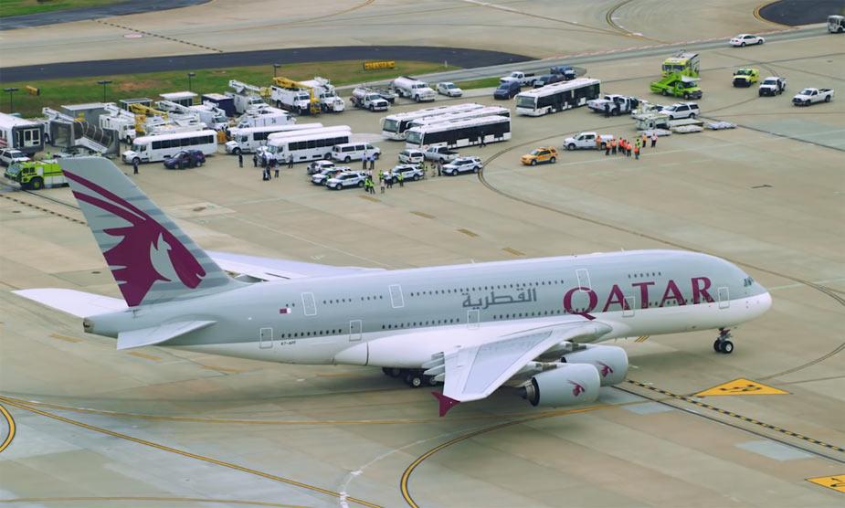 Airbus A380 Катар эйрвейс