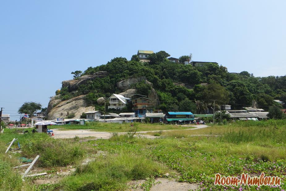 Гора обезьян Као Такиаб в Хуа Хине с большим Буддой и бесподобным видом