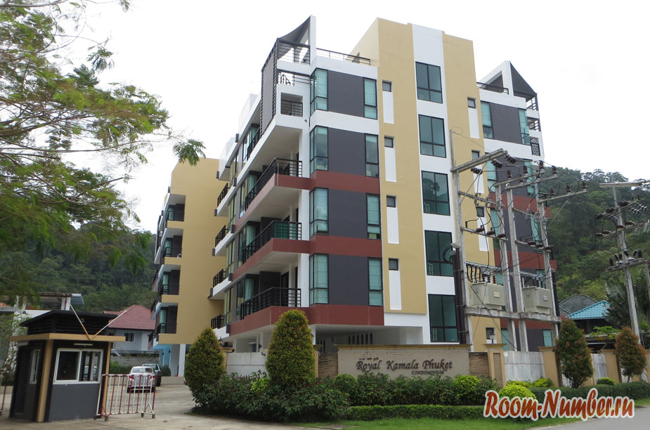 The Royal Kamala Phuket condominium в районе Камала