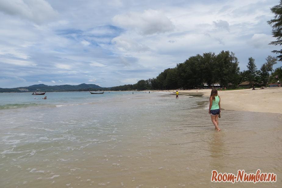 Пляж Бангтао на Пхукете: релакс и тишина