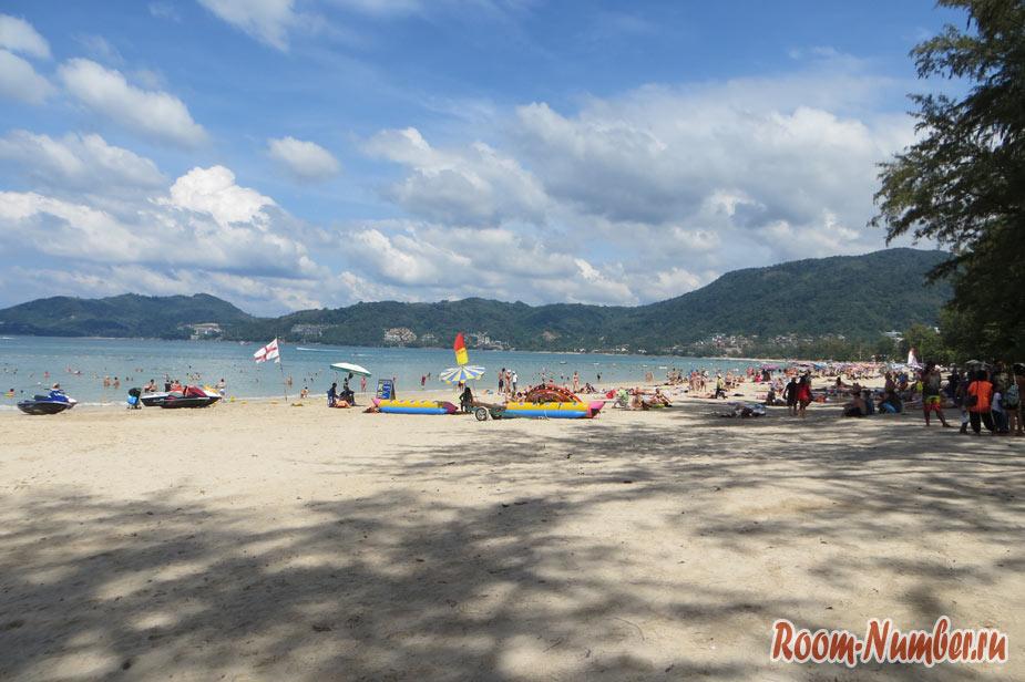 Пляж Патонг на Пхукете: там, где всегда весело и многолюдно