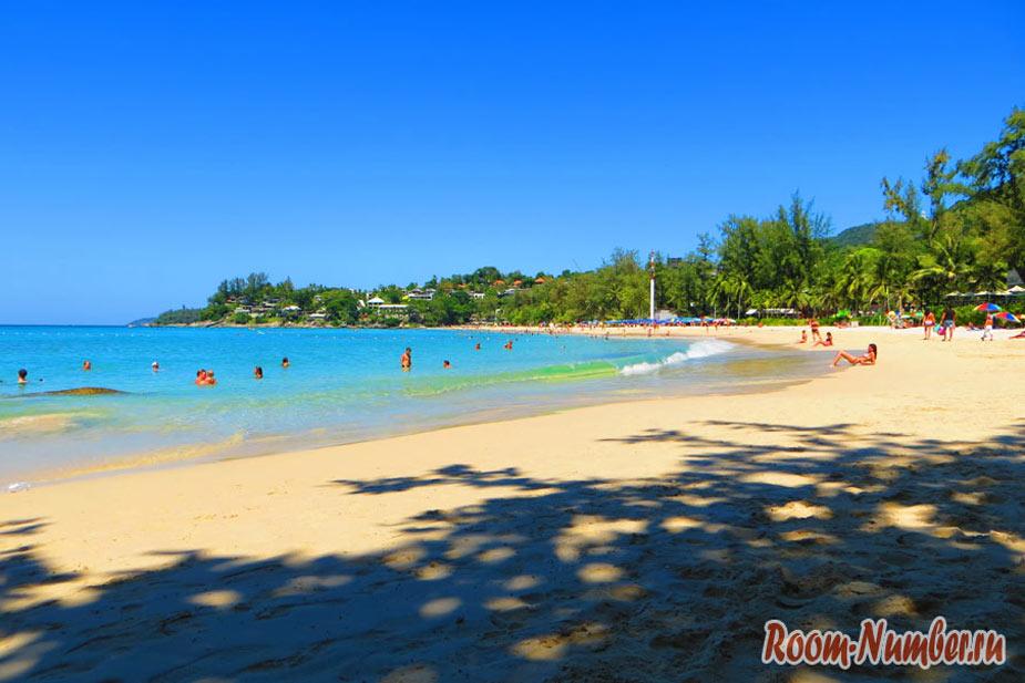 Отели на Ката-Ной. Варианты жилья на одном из лучших пляжей Пхукета