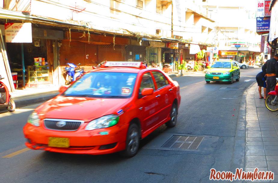 такси из аэропорта бангкока в хуа хин