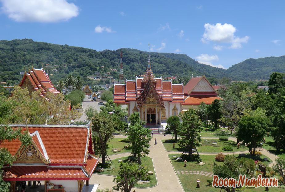 Ват Чалонг. Самостоятельная экскурсия в храм Wat Chalong на Пхукете