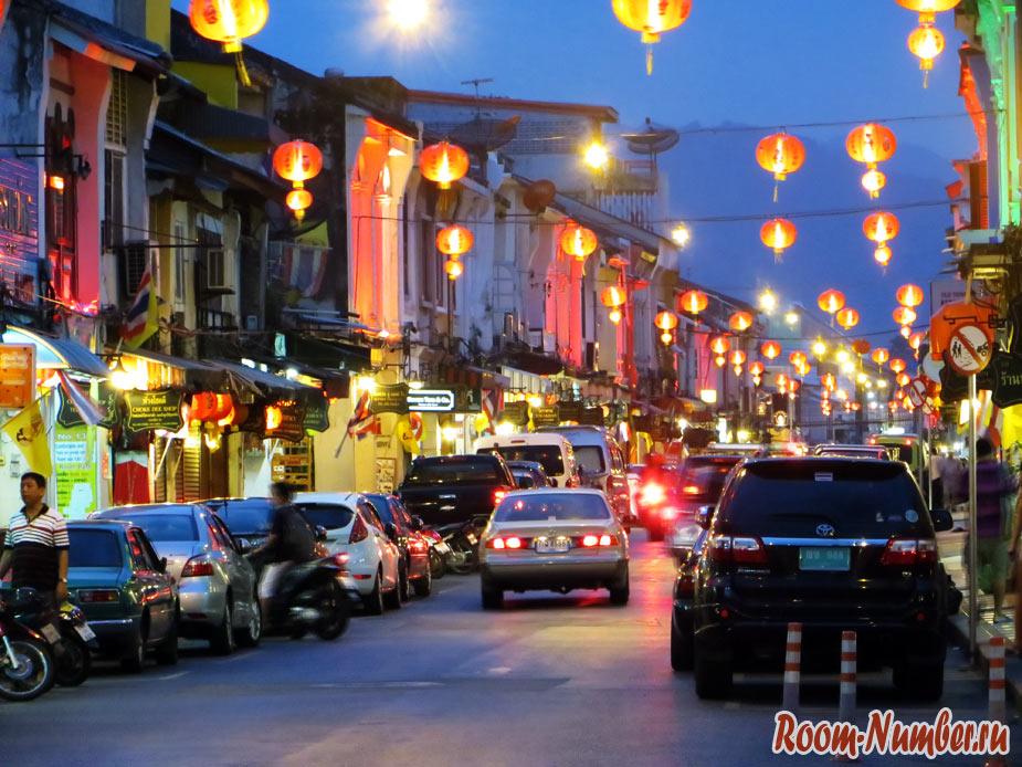 Китайский новый год в Пхукет-тауне