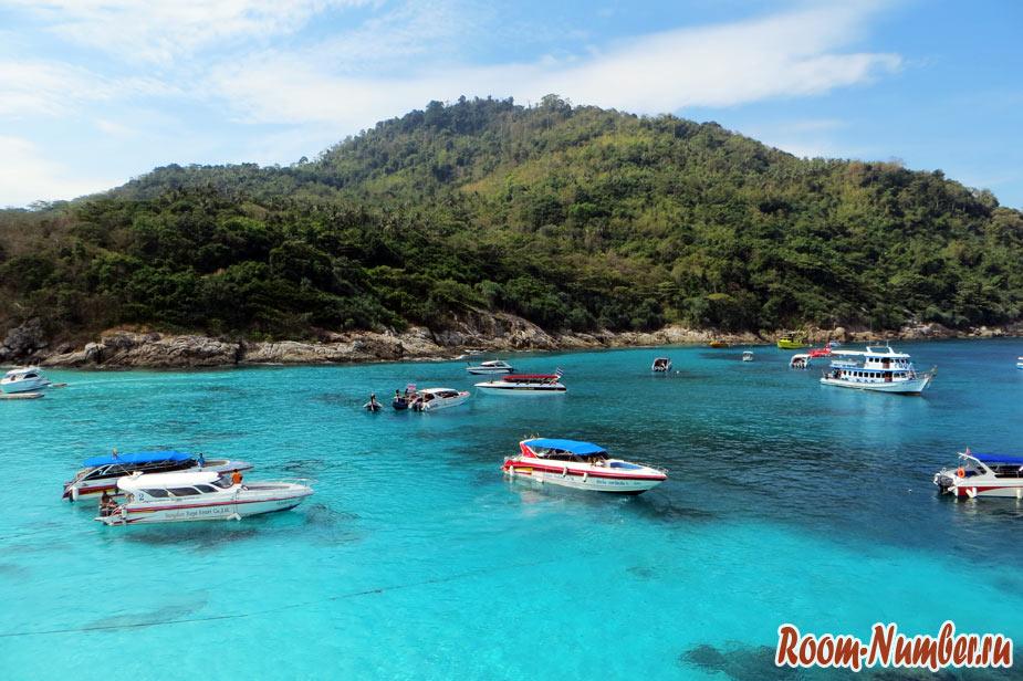 Остров Рача (Raya Island). Экскурсия с Пхукета на тропический пляж