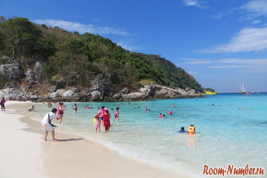 пляж Racha