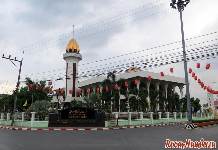 мечеть в сатуне