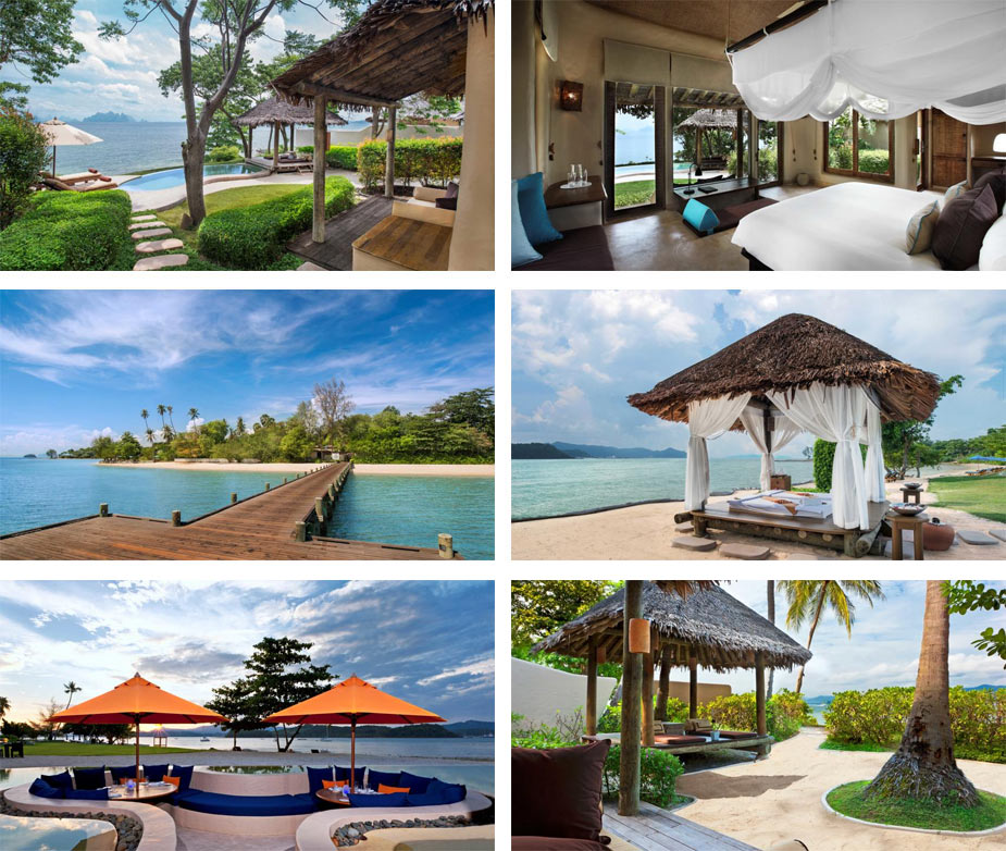 Отель The Naka Island, A Luxury Collection Resort and Spa