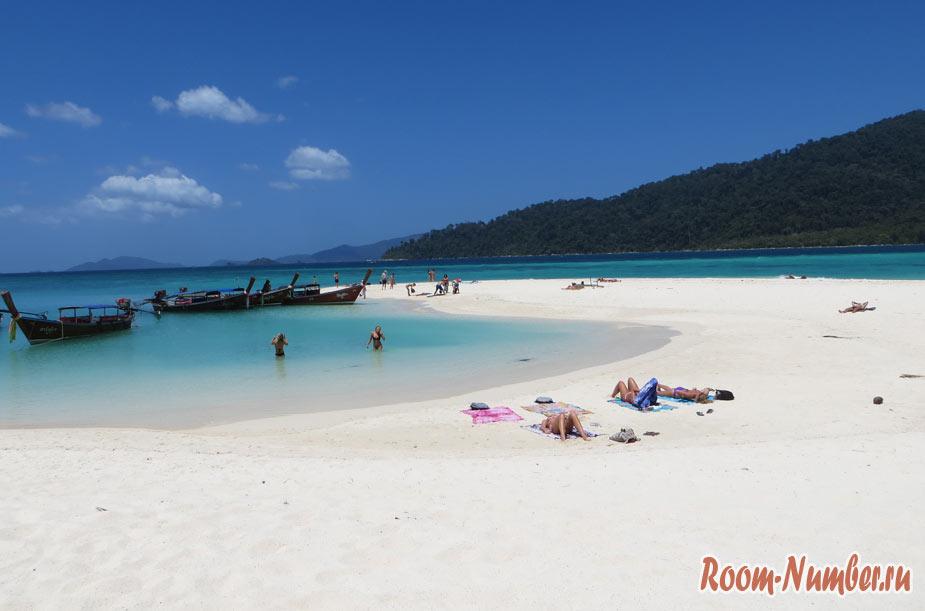 Пляж Карма на Ко Липе. Самая изящная запятая