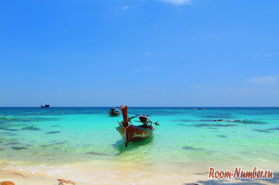 Sanom beach – укрытый от взглядов пляж на Ко Липе