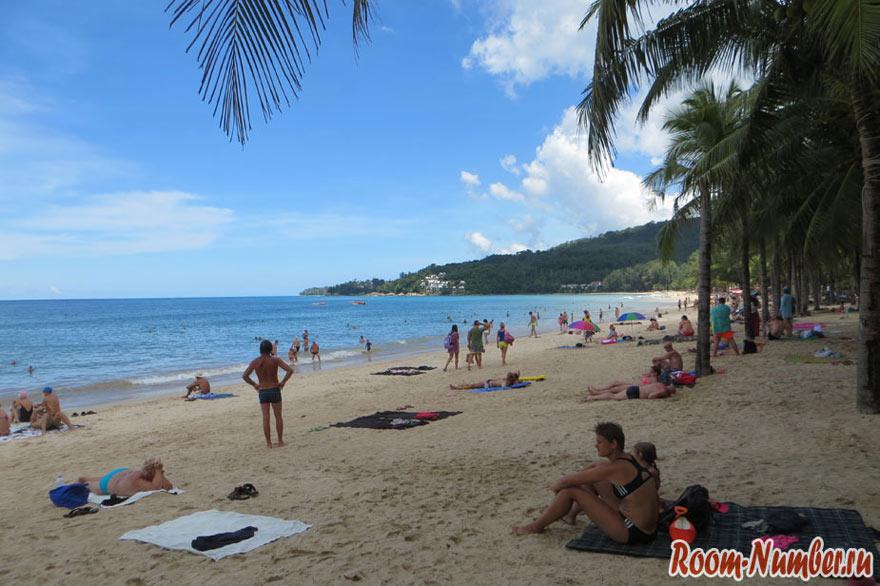 Где остановиться на Пхукете с хорошим пляжем