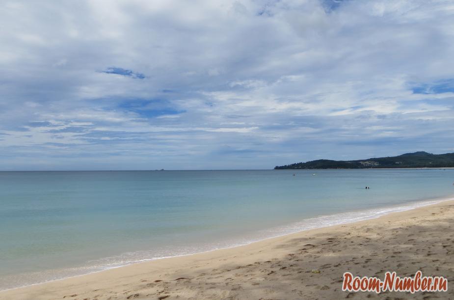 На каком пляже Пхукета нет волн