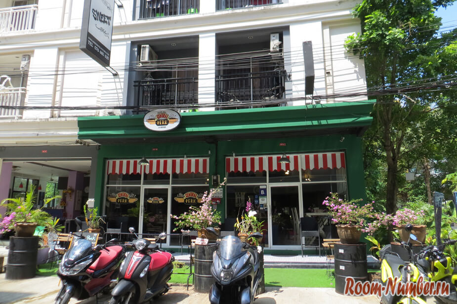 Sweet Hotel Patong — один из лучших бюджетных отелей на Патонге