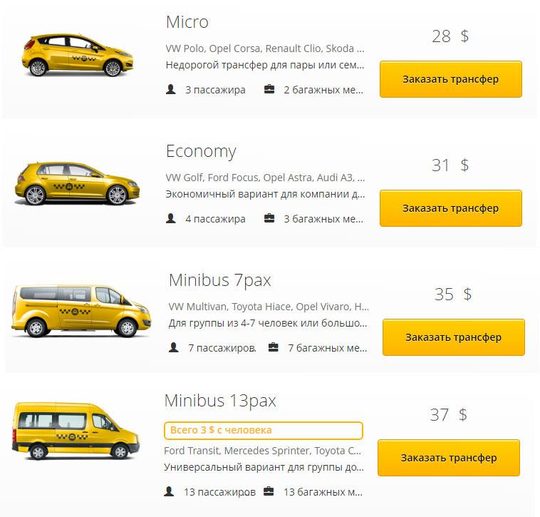 Такси из аэропорта Пхукета на Бангтао
