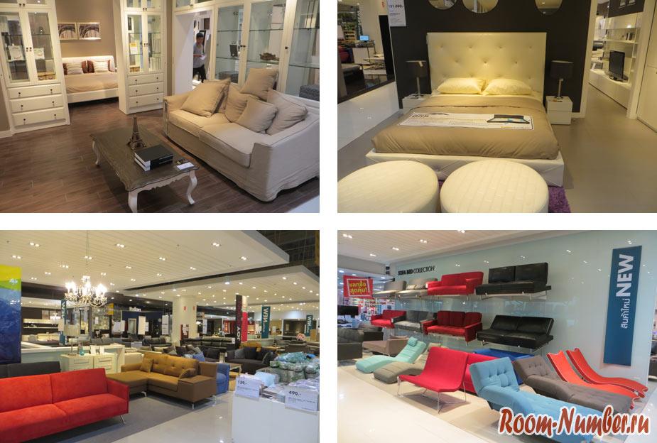 Index Living Mall Phuket — мебельный магазин типа Икеи