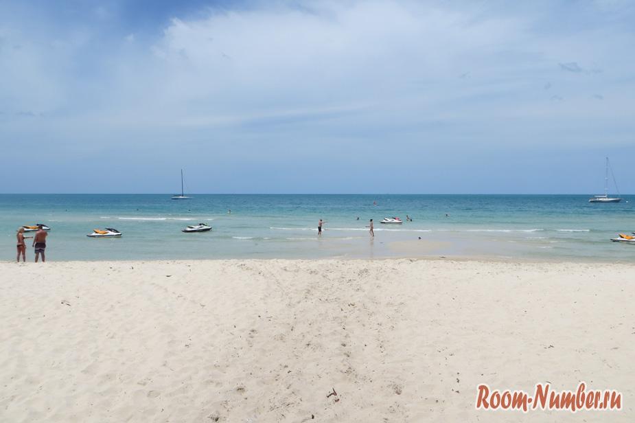 Пляж Чавенг на Самуи. Вас обманывают, говоря, что это худший пляж