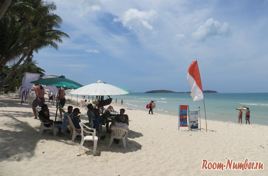 chaweng beach samui foto