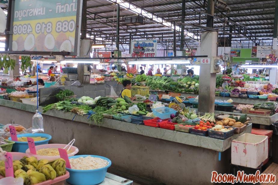 овощной рынок на кате