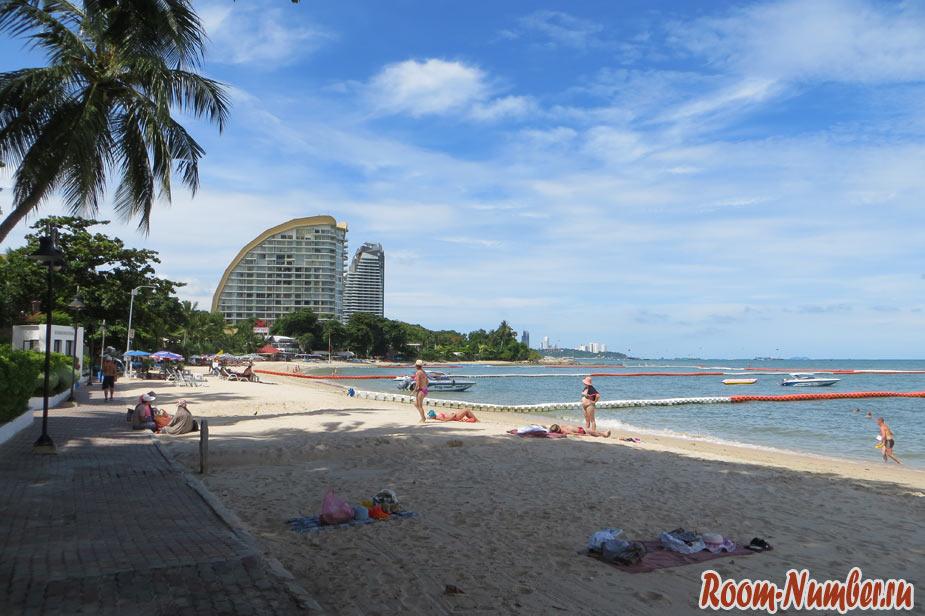 wongamat pattaya пляж