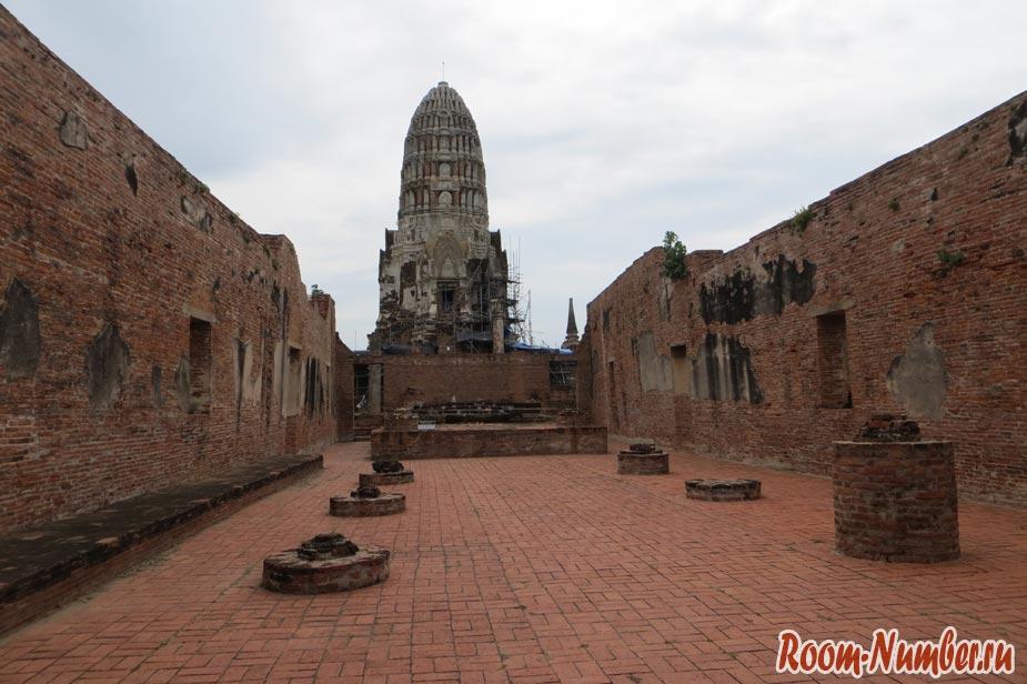 храмы аюттайи - ват ратчабурана