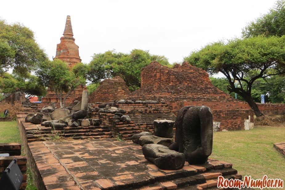 храм аюттайя