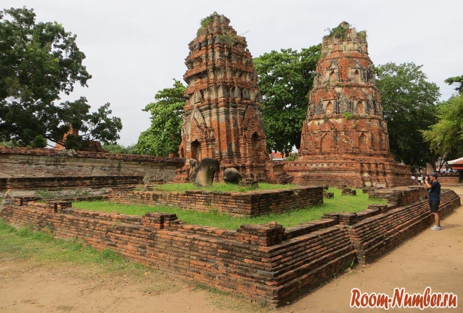 храмы ayutthaya
