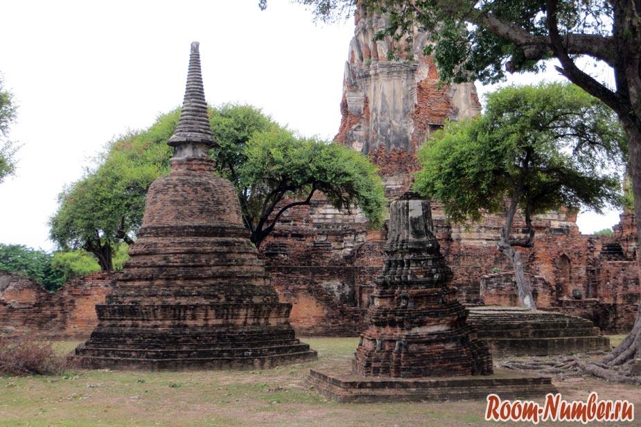 Wat Phra Ram аюттайя