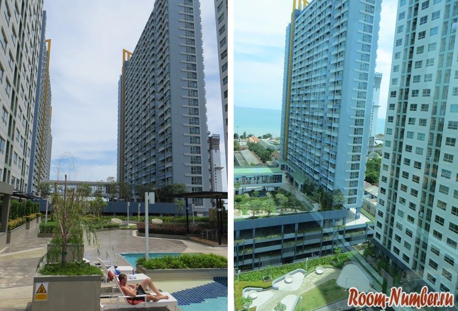 Кондо Люмпини на Джомтьене (Lumpini Park Condo Pattaya) – один из лучших кондоминиумов для длительного проживания в Паттайе